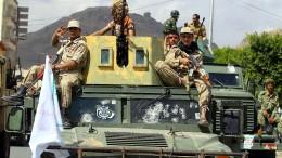 Houthis stoppen Raketenangriffe