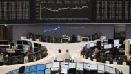 Immer in Bewegung: Kurse an der Frankfurter Börse