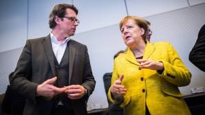 Merkels Machtwörtchen