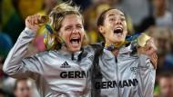 Laura Ludwig und Kira Walkenhorst: Sie haben ihren olympischen Traum in Rio erfüllt.