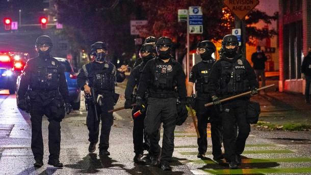 Auseinandersetzungen in Seattle