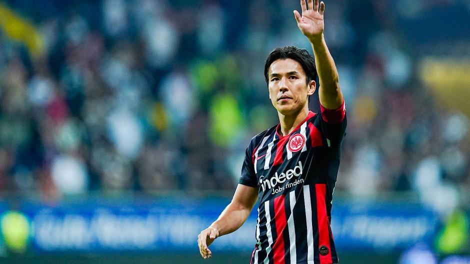 Makoto Hasebe beim Heimspiel gegen Borussia Dortmund im September 2019