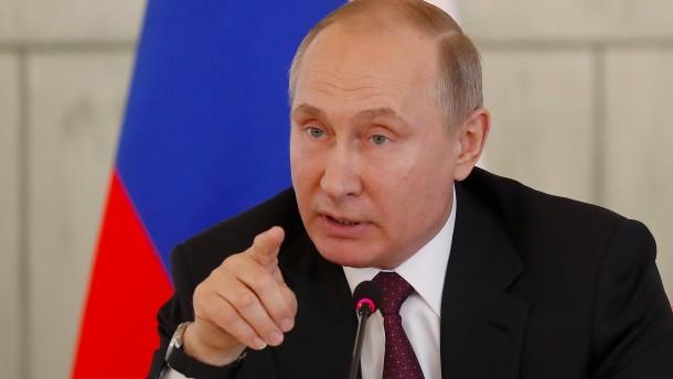 Putin bietet dem Westen die Stirn