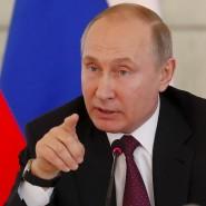 Triumphale Wiederwahl: Russlands Präsident Wladimir Putin