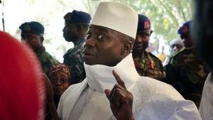 Präsident Jammeh will Niederlage doch nicht anerkennen