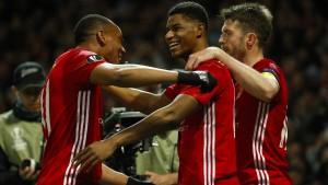 Manchester United steht im Halbfinale
