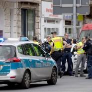 Mehrere Täter haben in Berlin-Wilmersdorf versucht, eine Bank zu überfallen.