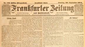 """Historisches E-Paper zum Ersten Weltkrieg: """"Sein Grab trägt die Nummer 1"""""""