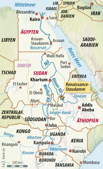 Lösung im Streit über Nil-Staudamm in Äthiopien