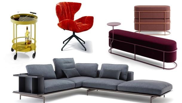 20 Entwürfe für Stühle, Sessel, Sofas