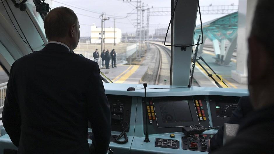 Bahn frei bis zur Krim!