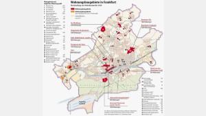 Pläne für Wohnungsbau unter den Erwartungen