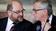 Juncker drohte im Ringen um Schulz-Nachfolge mit Rücktritt