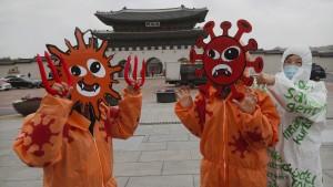 Das Virus lässt Südkoreas Wirtschaft schrumpfen