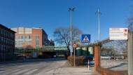 Wartestand: Der Industriepark Griesheim braucht neue Betriebe.