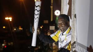 Pelé soll Olympisches Feuer entzünden – hat aber keine Zeit