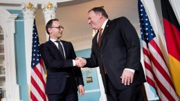 Maas trifft Pompeo