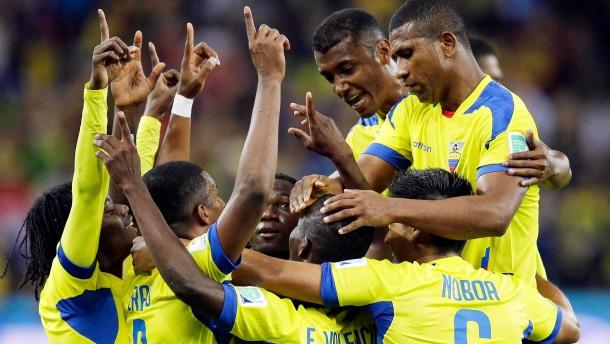 Enner Valencia dreht die Partie für Ecuador