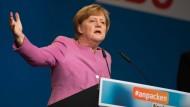 Merkel wirbt für Regierungswechsel