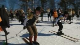 Skifahren wie Uropa