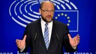 Schulz betont Zusammenhalt der EU