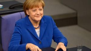 Merkel muss sich nicht grillen lassen