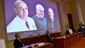 Medizin-Nobelpreis für die Entdecker des Hepatitis-C-Virus