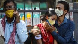 Indien meldet neuen Höchststand – mit 332.730 Neuinfektionen