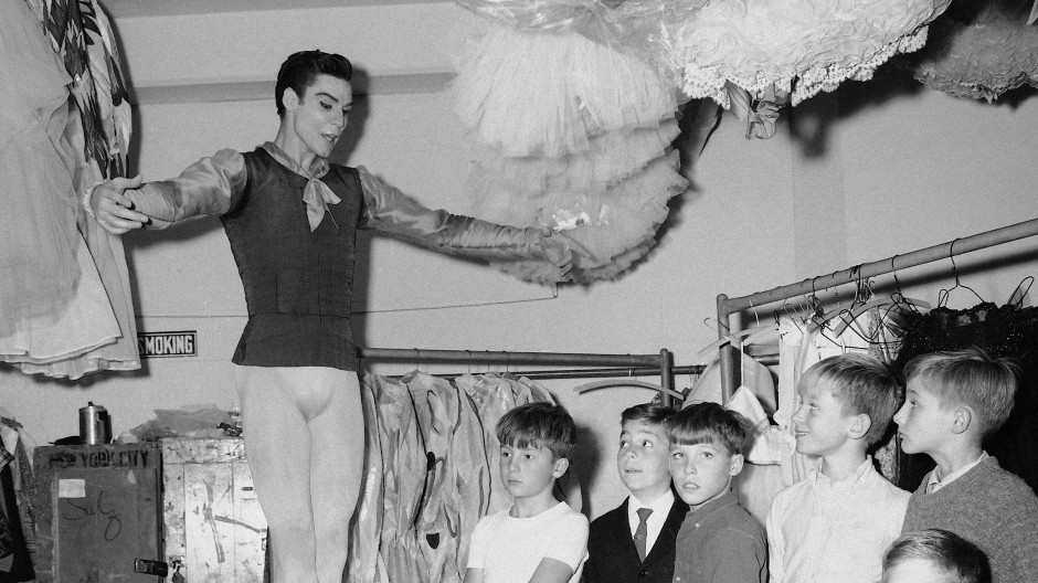Jacques d'Amboise 1965 im New Yorker Lincoln Center