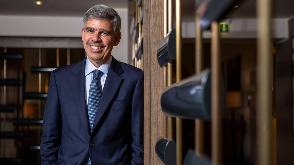 Mohamed El-Erian, 61, ist ökonomischer Chefberater des Versicherungskonzerns Allianz und war Vorstandschef der Fondsgesellschaft Pimco, einer Allianz-Tochtergesellschaft. Er ist einer der renommiertesten Finanzmarktexperten der Welt.