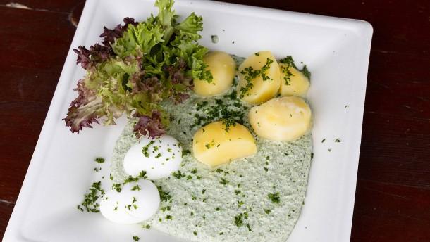 Die Frankfurter Grüne Soße wird knapp