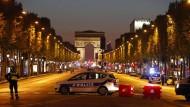 Angriff auf Polizisten auf Champs-Élysées