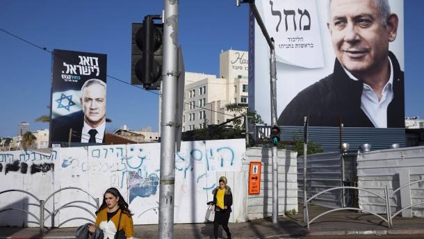 Gantz und Netanjahu bekommen noch 48 Stunden