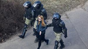 Zahlreiche Festnahmen bei Protestaktionen gegen Lukaschenka