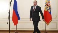 Hält sich weiter alle Optionen offen: Russlands Präsident Wladimir Putin an diesem Freitag