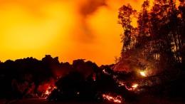 Lava-Walze im Zeitraffer