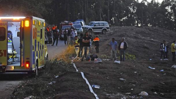 Sechs Tote bei Rallye in Spanien