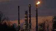 Gewaltiger Sprung des Ölpreises