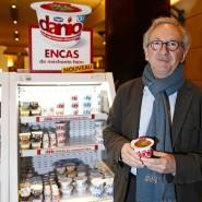 Nicht nur Joghurt: Danone-Vorstandschef Franck Riboud setzt auf Schulden.