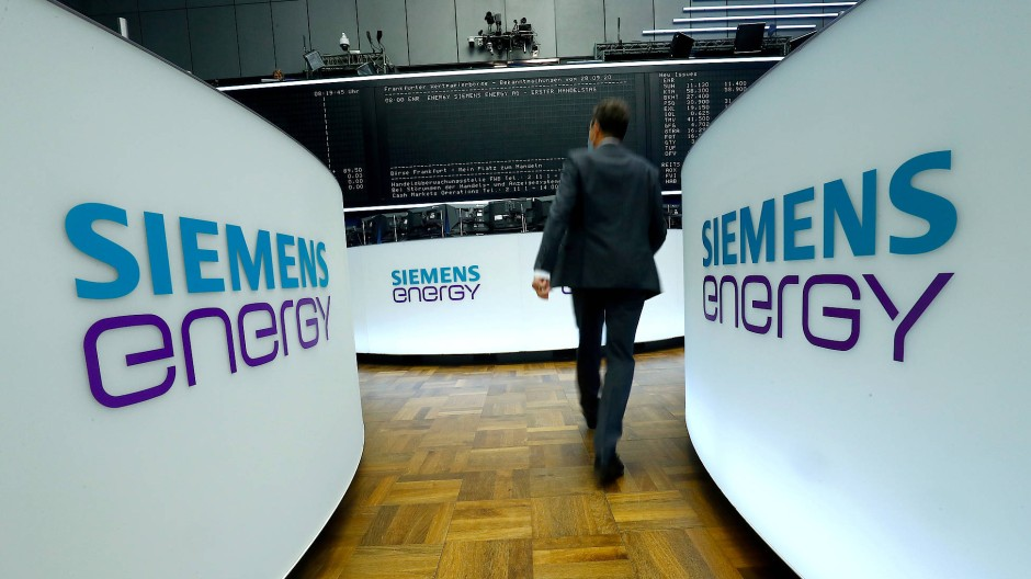 Bald am Dax vertreten: Siemens Energy