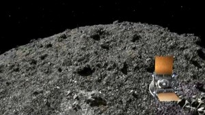 Nasa-Sonde Osiris Rex auf Asteroid gelandet