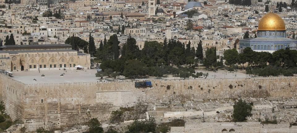 Eine Interaktive Ansicht Des Historischen Jerusalems