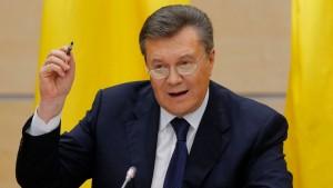 Janukowitsch fordert Referenden in allen Regionen