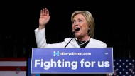 """Hillary Clinton konnte am """"Super Tuesday"""" in vielen Bundesstaaten gewinnen."""