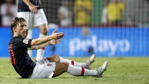 Kroatien geht gegen Spanien 0:6 unter