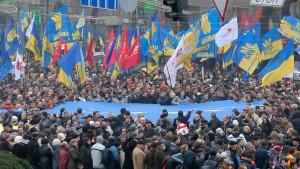 """Größte Demonstration seit der """"Revolution in Orange"""""""