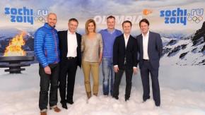 Olympia-Team von ARD und ZDF