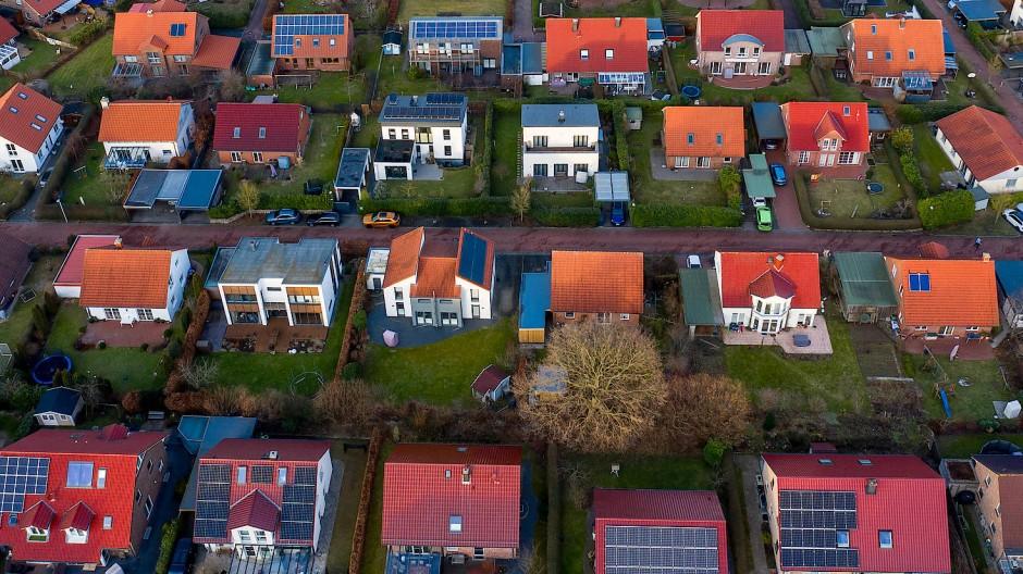 Neubausiedlung im südwestlichen Teil von Kiel