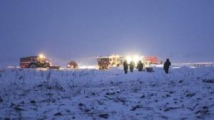 71 Tote bei Absturz von Passagierflugzeug nahe Moskau