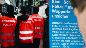 Scharia-Polizei-Westen verstoßen nicht gegen Uniformverbot
